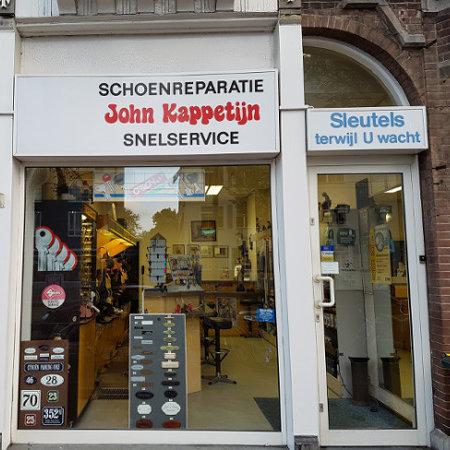 Schoenmakers winkel voorkant