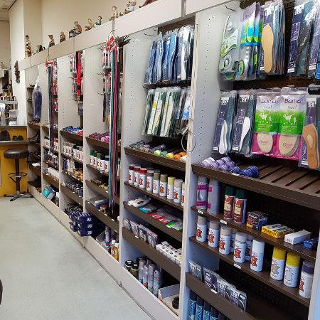 Sleutels en schoenmaker accessories